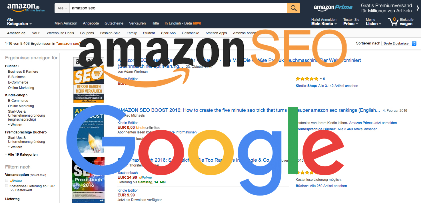 Amazon SEO Google