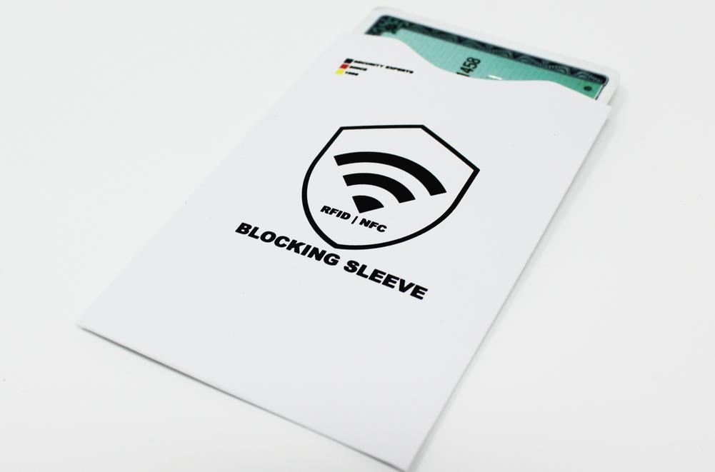 rfid blocker hülle kreditkarte